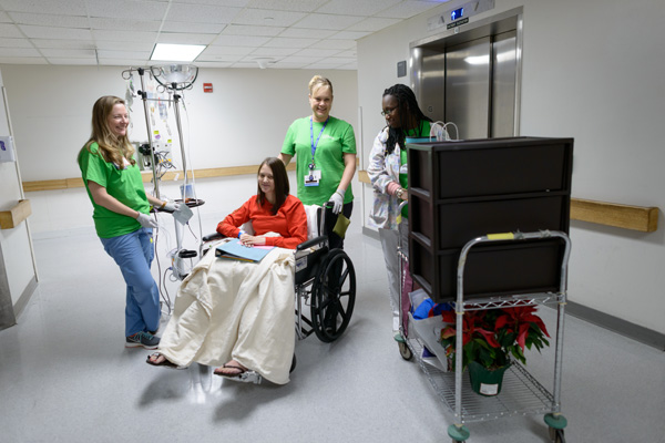 Bobbie Thornton, 32, of Wauchula, who is awaiting a heart transplant, said she loves her new room, especially the bigger windows with a view that stretches to Paynes Prairie.