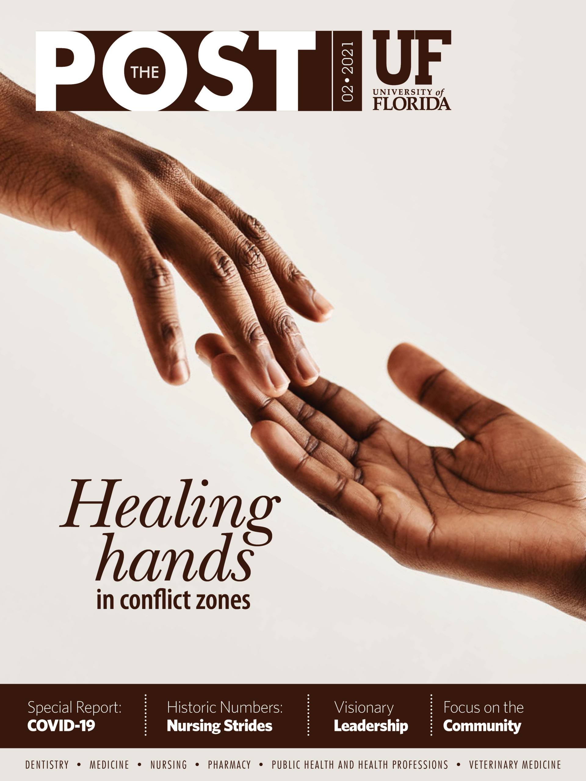 Cover for February 2021 Issue