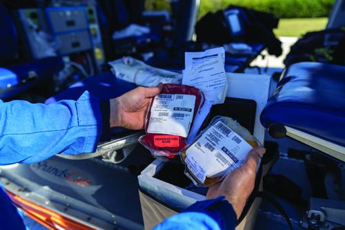 ShandsCair Blood Transport Team