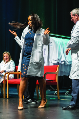The UF College of Medicine's White Coat Ceremony is a milestone moment in a student's life — and a time to shine.